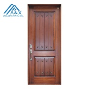 High quality solid wood villa entrance doors