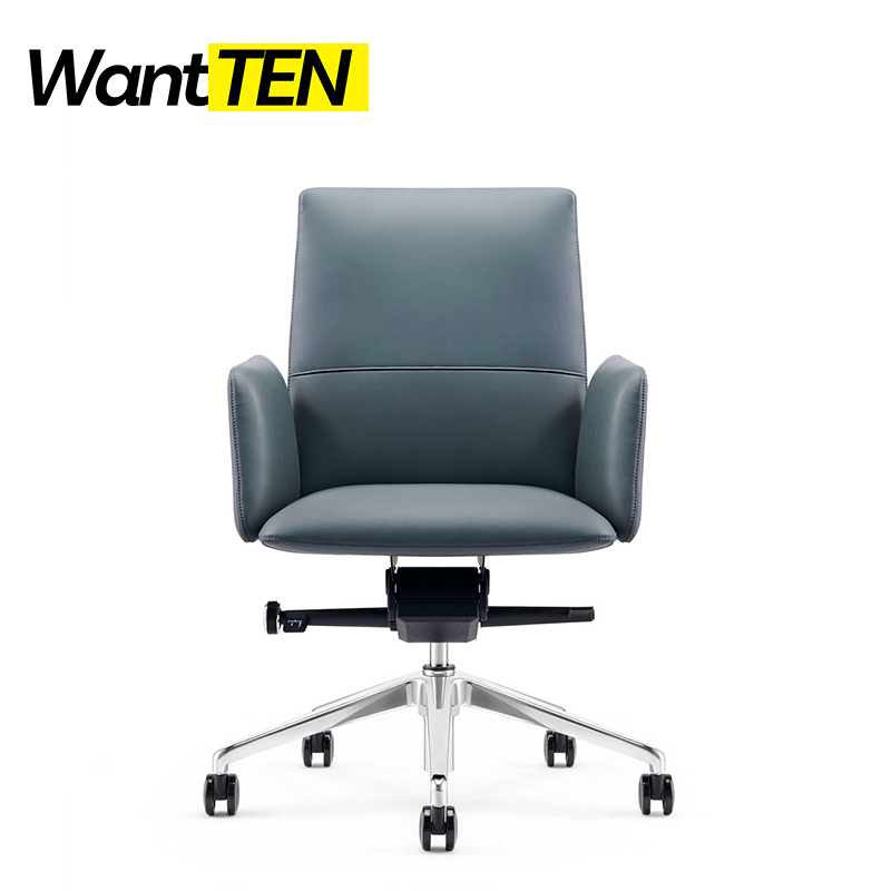 Clean Lines And European Styling Selective Upholstered Modern Time Design For Graceful Manager Office Chair B1911