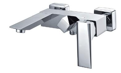 Aristic modern design brass hot/cold water mixer bathtub faucet