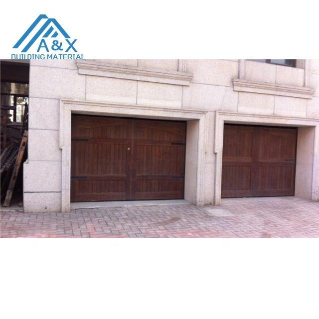 High quality solid wood garage door