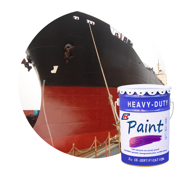 Excellent adhesion modified epoxy ballast tank anticorrosive paint