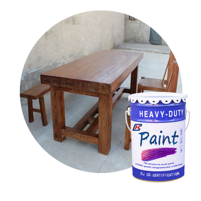 colorful anti UV wood oil paint for wood structure