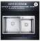 European standard Double bowl 304 stainless steel kitchen sink