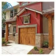 Villas Wood Garage Door