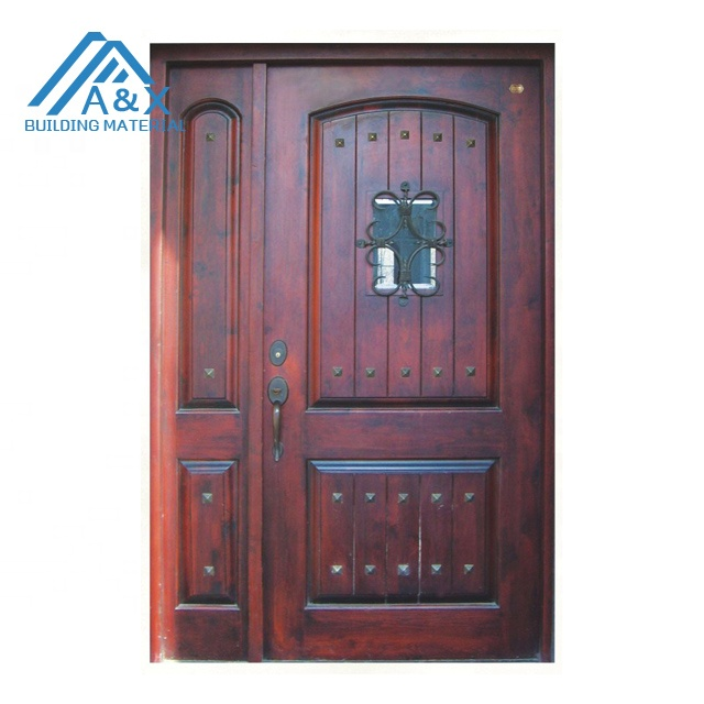 American Style Real Wood Door/wooden door