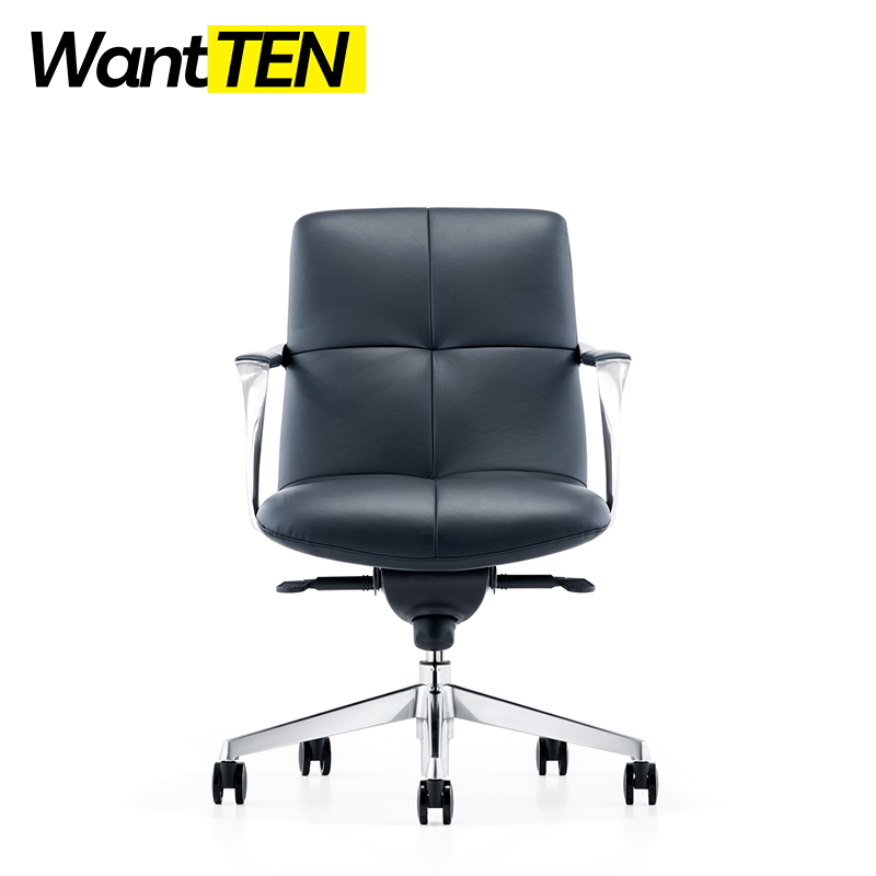 Height Adjustable Comfort Seating Luxury Executive Office Chair Industrial Loft Style Boss Chair B1723