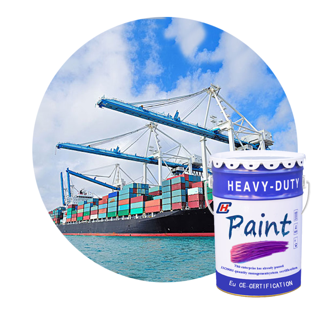 Universally used modified epoxy anticorrosive coating paint (for Ships)