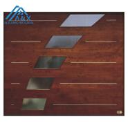 European Design Solid Wood Garage Door