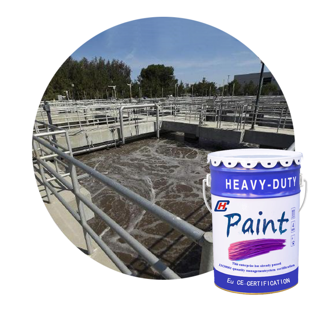 Professional epoxy modified vinyl ester acid and alkali resistant anticorrosive coating