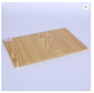 400mm Hot Sales 3D Oak Color WPC Wall Cladding Interior Wall Panel For Luxembourg
