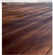 Outdoor Wood Decking COM OS ELEMENTOS