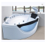 China suppliers triangle design floor standing fiber bathtub