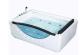 China supplier saure design Double perpole massage acrylic whirlpool bathtub