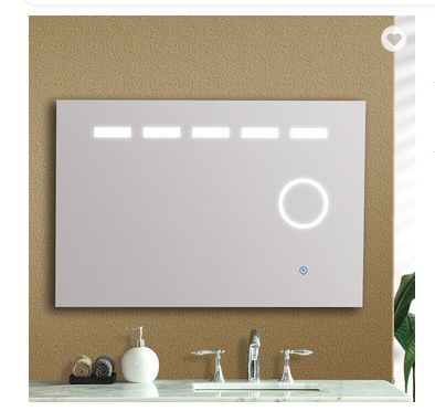 CLASIKAL SANITARY WARE wall mounted with magnifying led mirror touch screen
