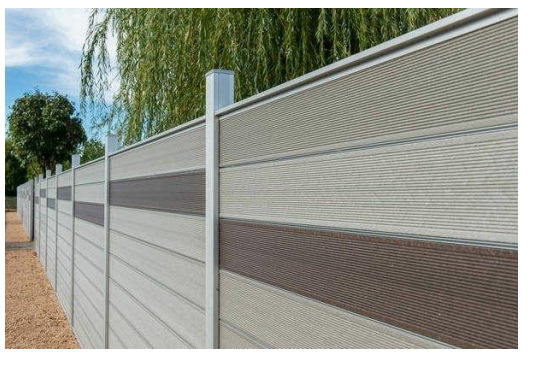 WPC artificial wood fence 5024