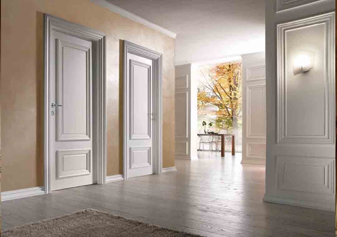 WPC ​Wood Doors White