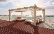 Outdoor Real Wood Decking
