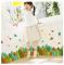 Colorful Leaves Self-adhesive Wall Sticker 3D Design PVC Decorative Kick-line