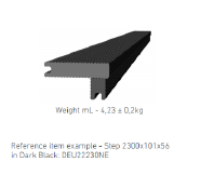 WPC DECKING Dark Black: DEU22230NE