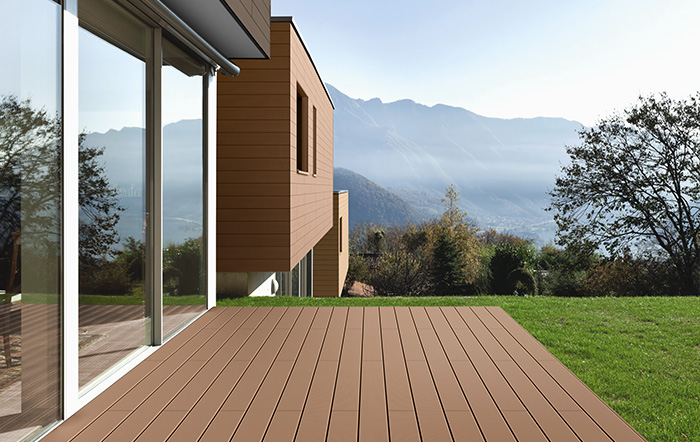 ​WPC DECKING Black: DEU11230PR