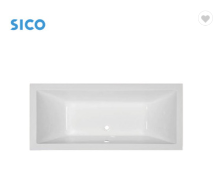 drop in square shape high quality hot selling bathtub