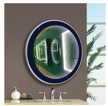 MADE IN CHINA new design with sensor touch switch 3D led mirror