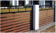 WPC artificial wood fence 5012