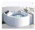 Floor standing CLASIKAL Sanitary ware hotsale 2019 new design acrylic simply bathtub