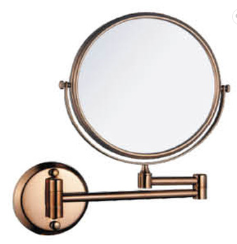 New design wall mount rose gold color 6/8 inch 3X magnify cosmetic beauty compact mirror