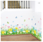 Colorful Flowers Butterfly Decorative Wall Paper 3D Design Wall Stickers