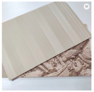 400mm Residential Bamboo Fiber Wallpaper WPC Decoration Wall Panel