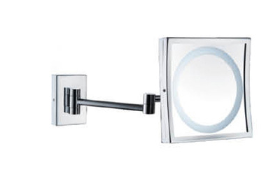 Hot selling Wall mounted 3X magnify bathroom cosmetic led mirror