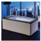 Made in china New square design waterfall small bathroom bathtub