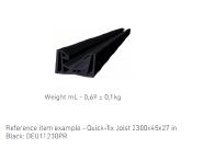 WPC DECKING Black: DEU11230PR