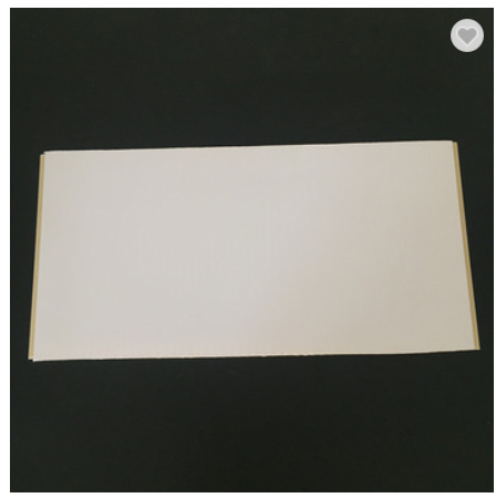 400*9mm White Color Bamboo Fiber WPC Paneling For Hotels
