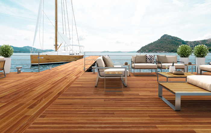 Real Wood Decking