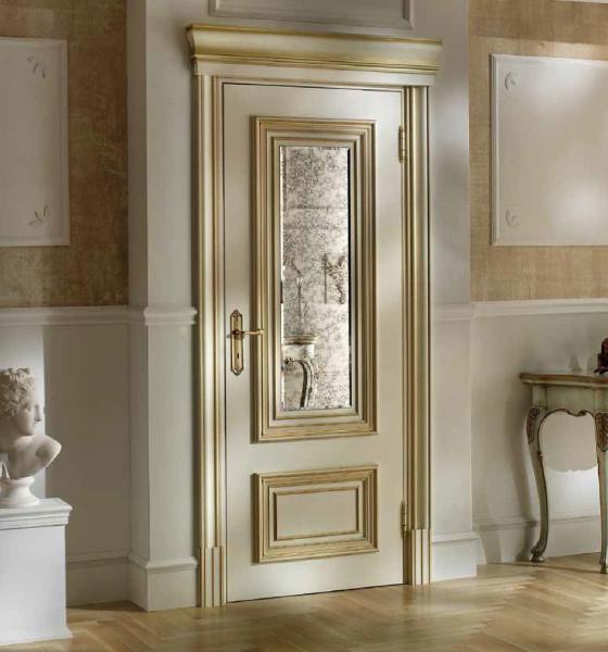 European style WPC Wood Doors