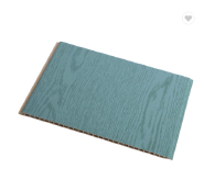 400*8mm Bluish Green Wood Color WPC Wall Panel High Quality Wall Cladding For Switzerland Market
