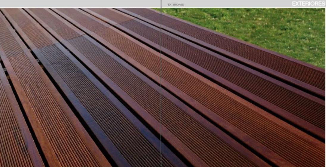 Outdoor Wood Decking EXTERIORES