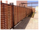 WPC artificial wood fence 5023