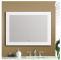 Modern design factory price with sensor touch screen led makeup mirror