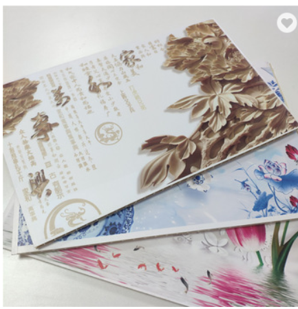 High Quality Entertainment Interior Decorative WPC Bamboo Fiber Wall Panel