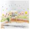 Dream Iris PVC Decorative Wall Sticker Kick-line Waterproof 3D Design Wallpaper