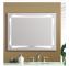 Foshan factory customized sensor touch led vanity mirror