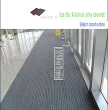 New design Commercial Interlock Waterproof Dustproof Aluminum doormat
