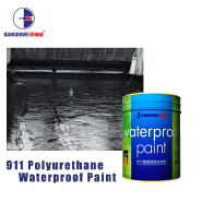 One component-water activated Spray applied waterproof coating/water based polyurethane paint for steel structure