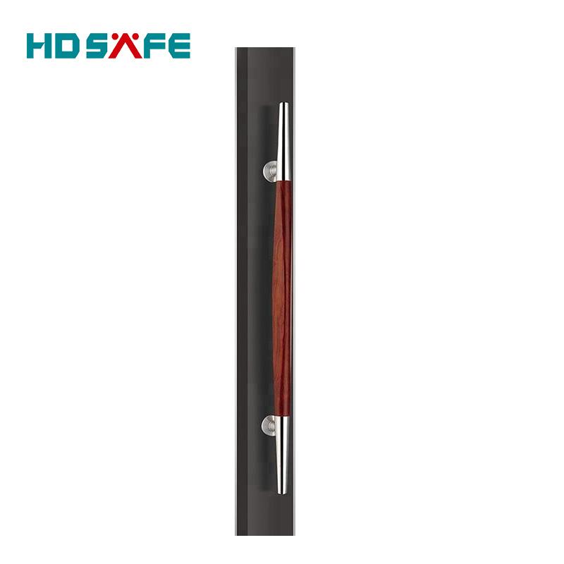 high quality SS304 stainless steel wooden door pull handles for wooden door or glass door