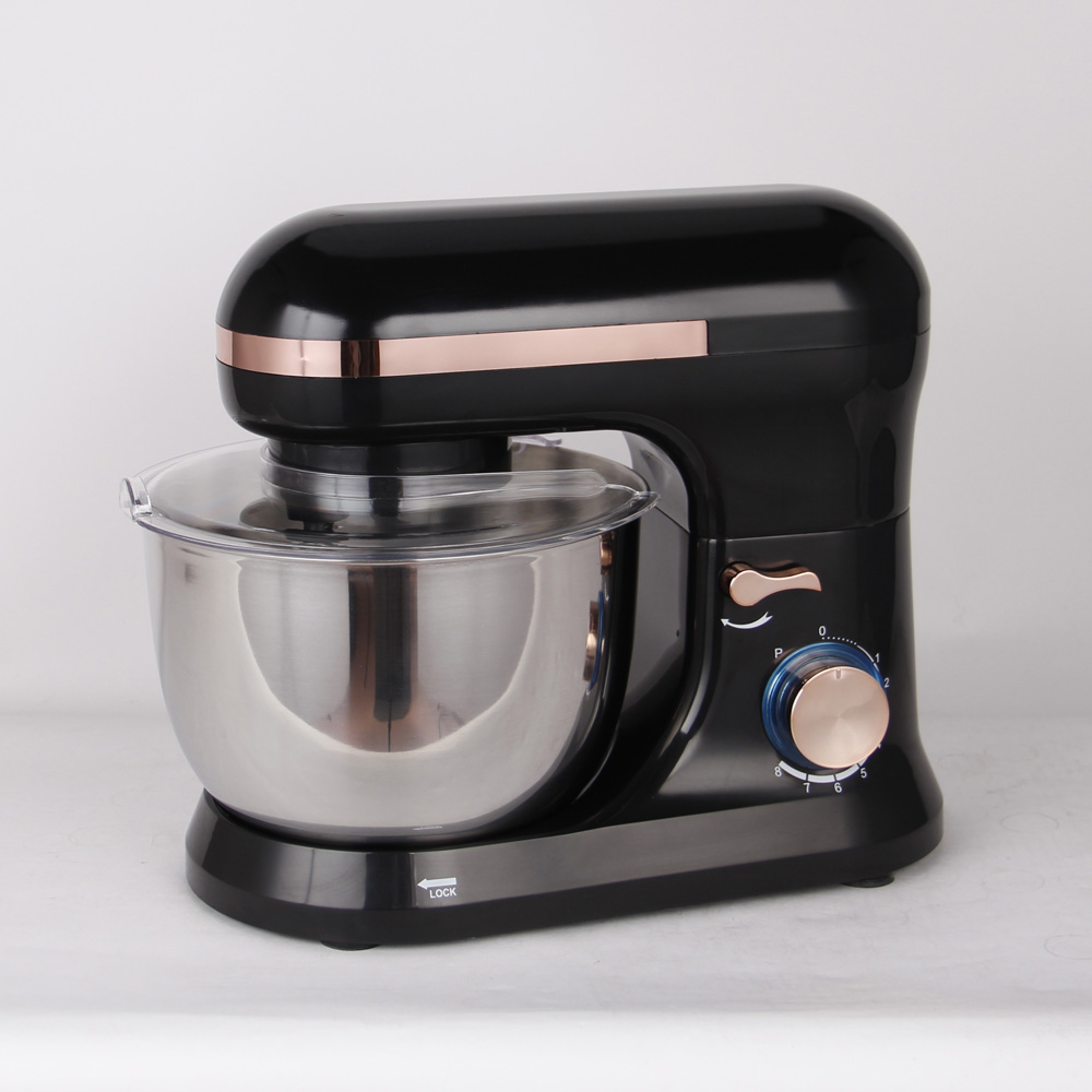 1300W powerful 5.5L food stand mixer with 8 speeds for household