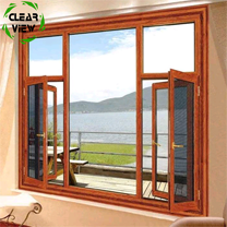 Clearview Furnishing aluminum frame insulated high hurricane impact glass windows