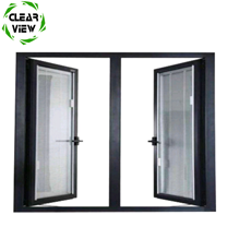 Clearview Furnishing double fire rated french glass windows